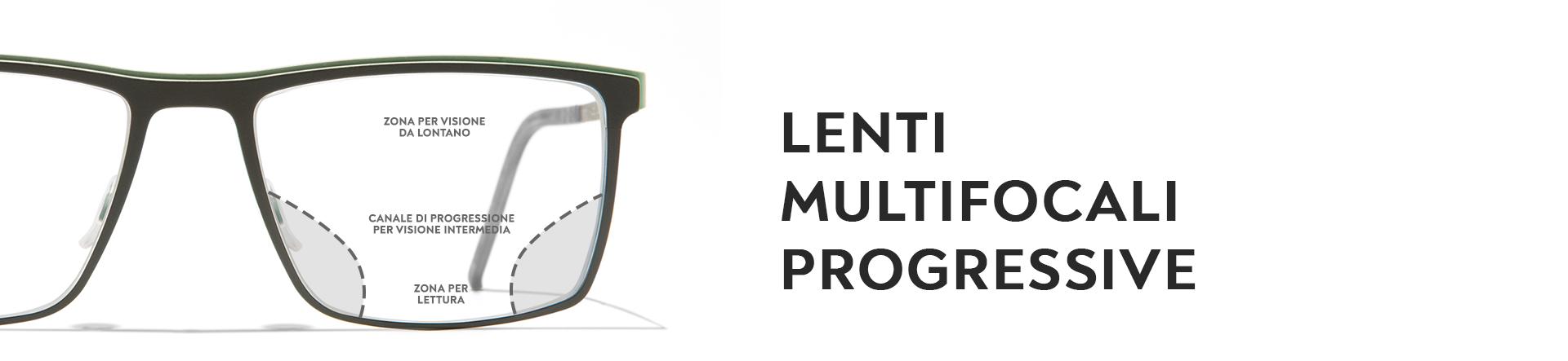 Lenti Multifocali Progressive - Occhiali da Vista