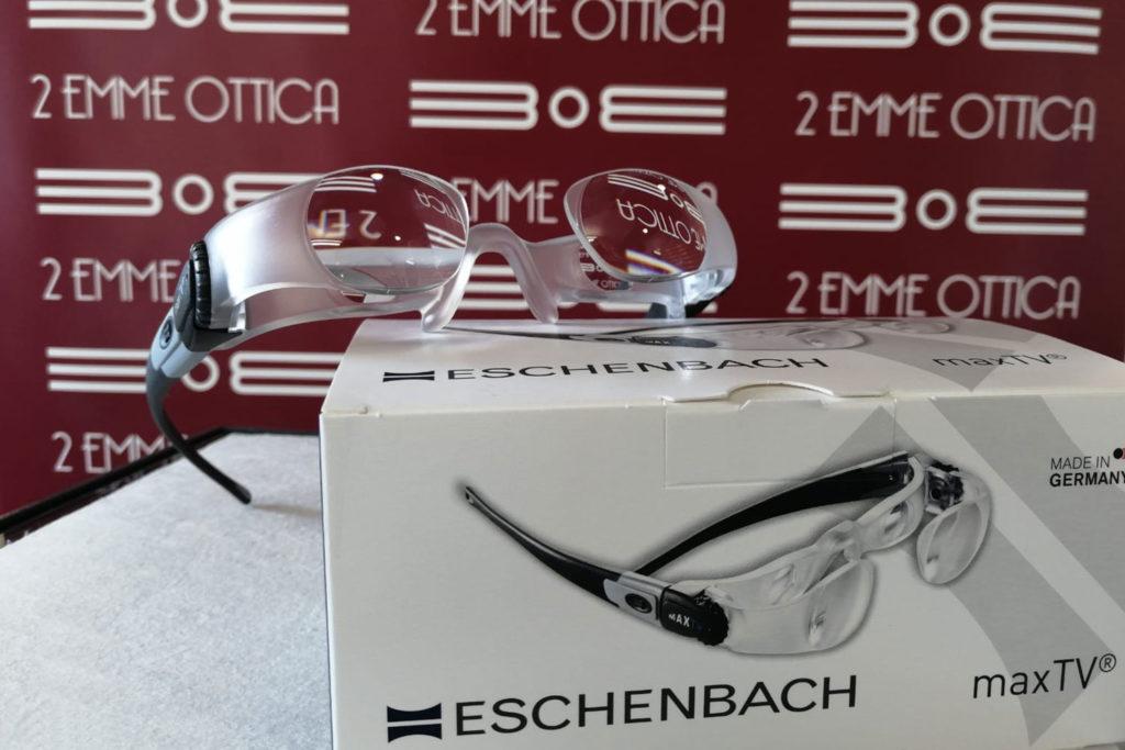 maxTV Eschenbach Occhiale ingrandente per TV